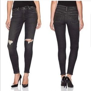 Levi's 711 Skinny Women's Distressed Jeans Sz 29